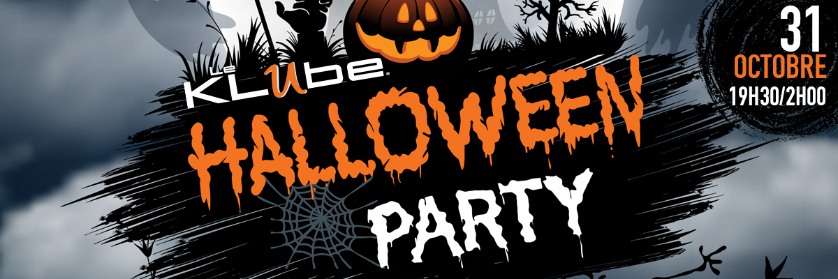 Halloween party au Klube