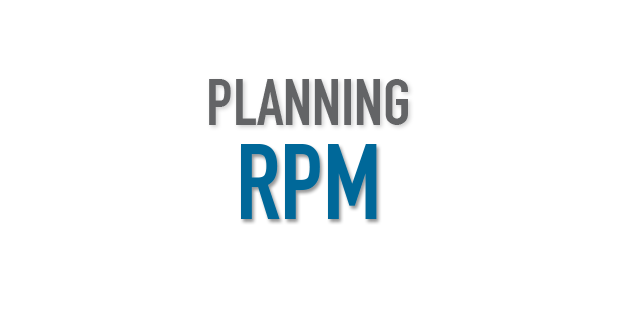 Planning RPM le klube